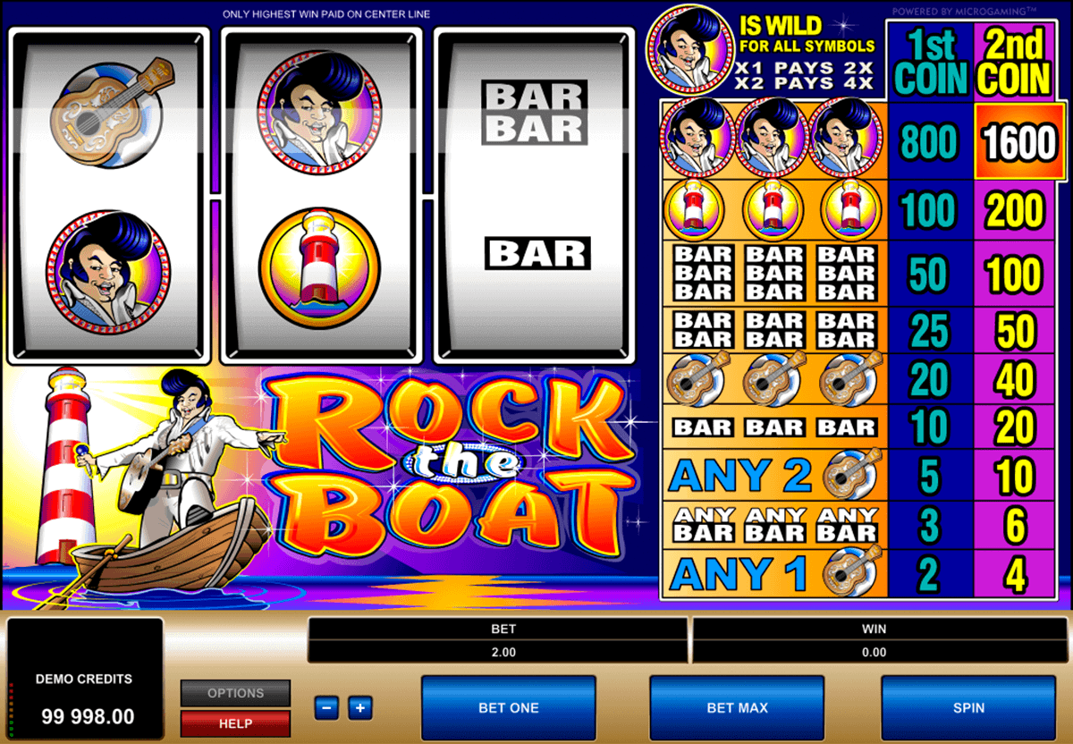 rock the boat microgaming spielautomaten