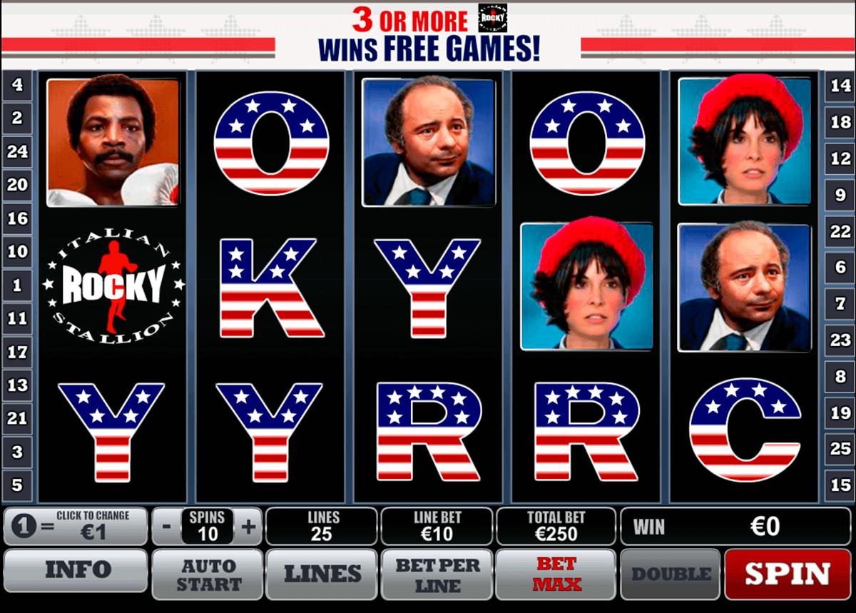 Spiele Rocky - Video Slots Online