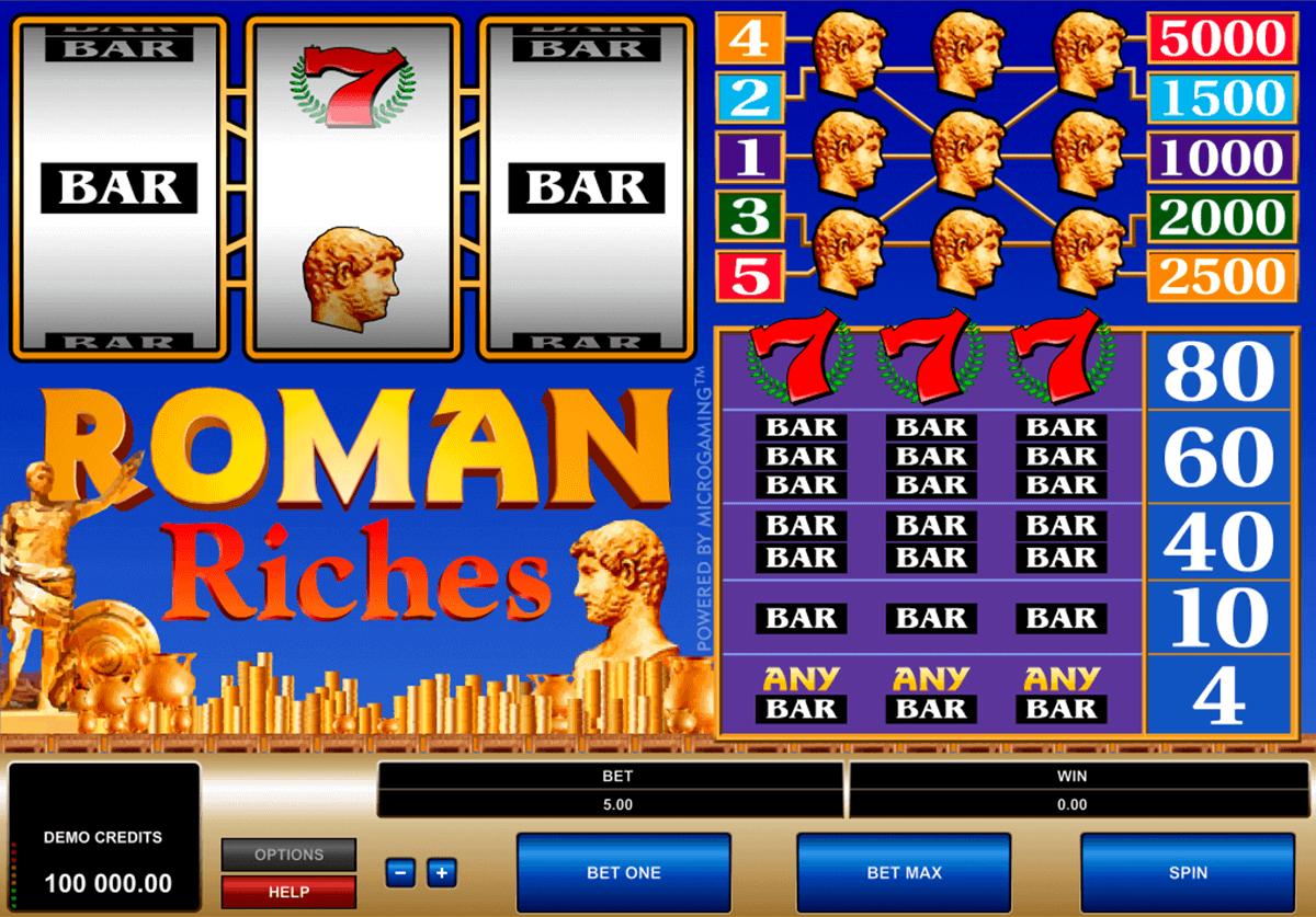 roman riches microgaming spielautomaten
