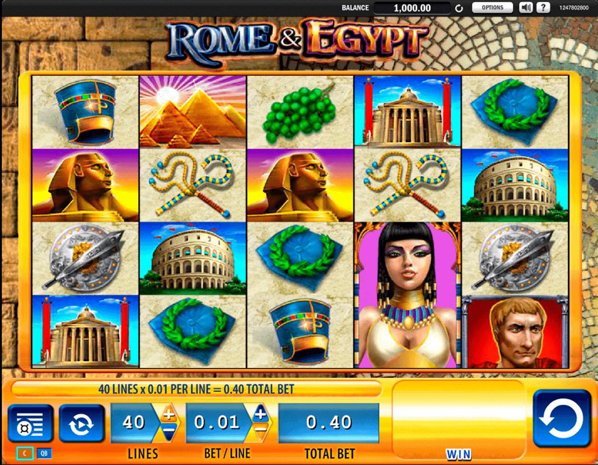 rome egypt wms spielautomaten