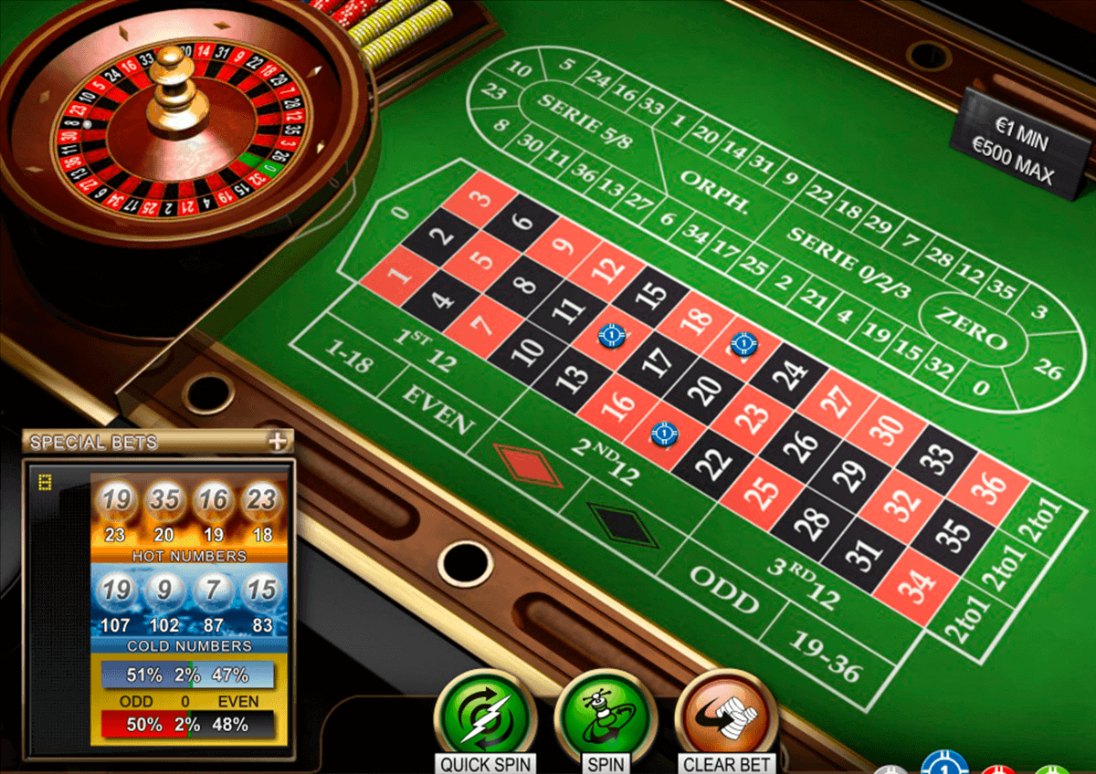 Roulette online spielen how to make roulette bets