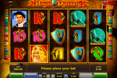 royal dynasty novomatic spielautomaten