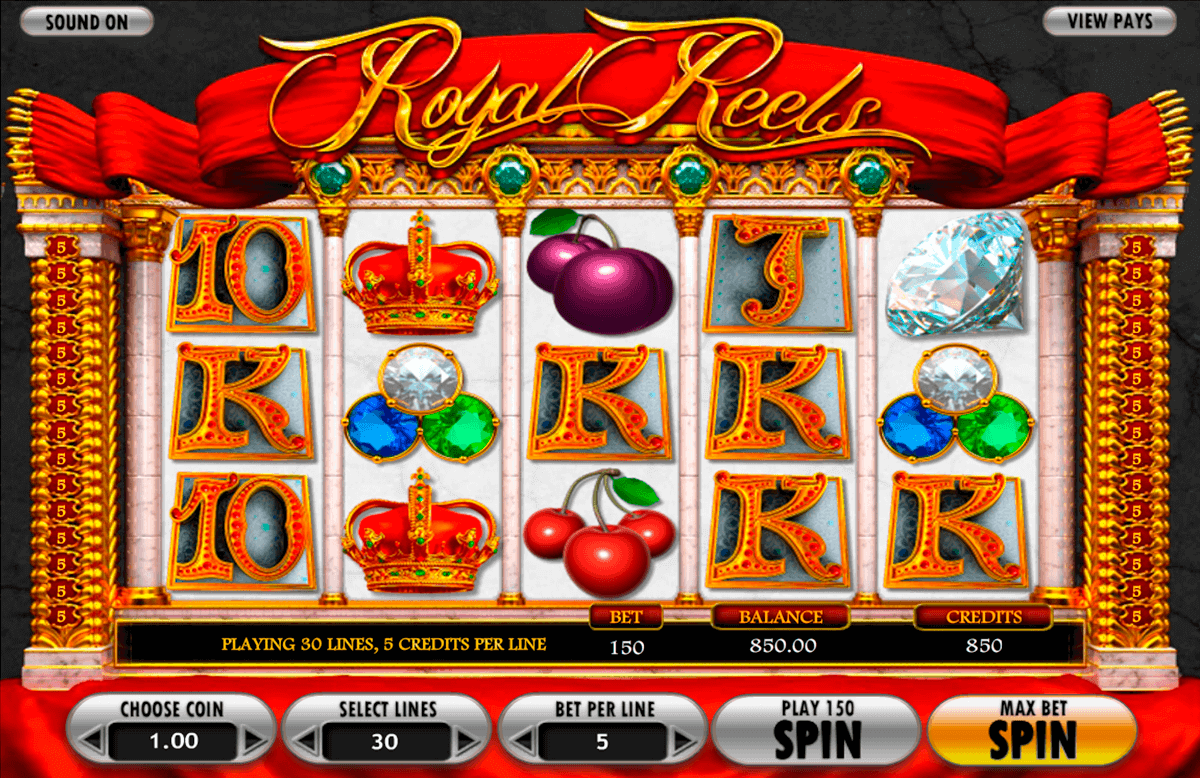 royal reels betsoft spielautomaten