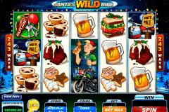 santas wild ride microgaming spielautomaten