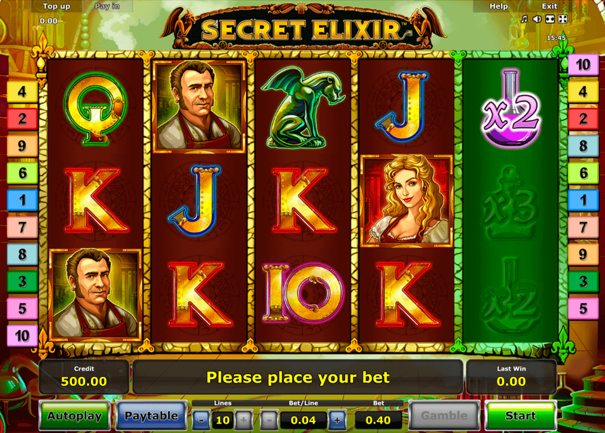 Secret Forest Slots - Gratis Online Casino-Spiel von Novomatic