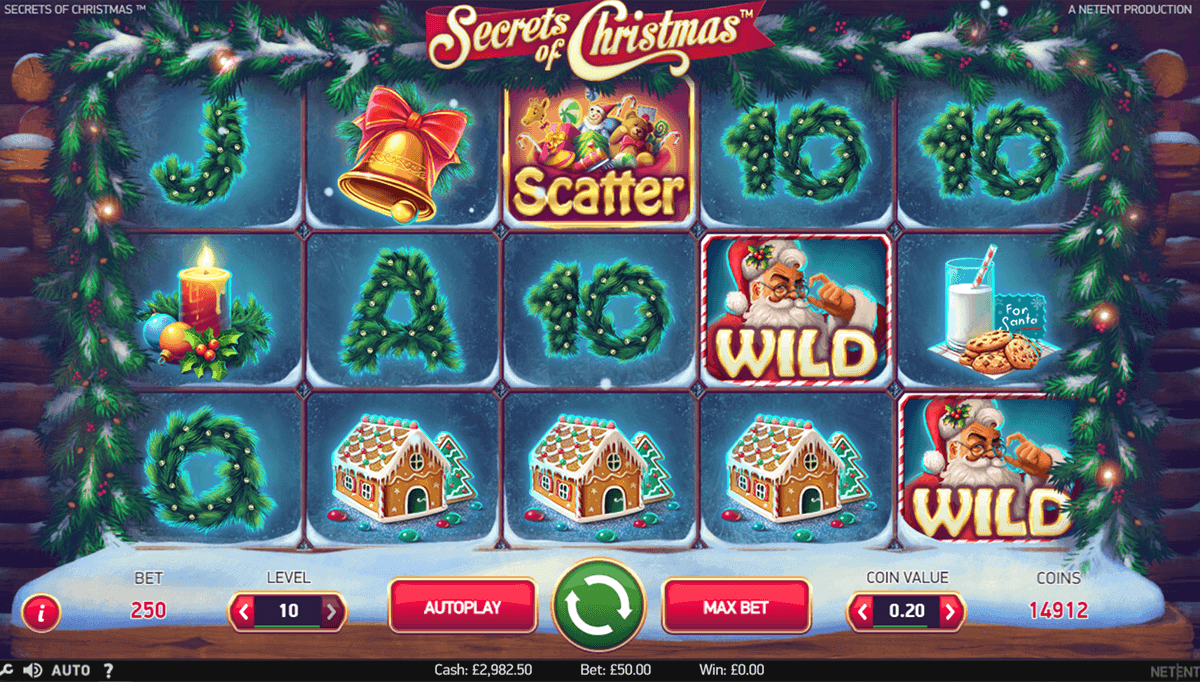 secrets of christmas netent spielautomaten