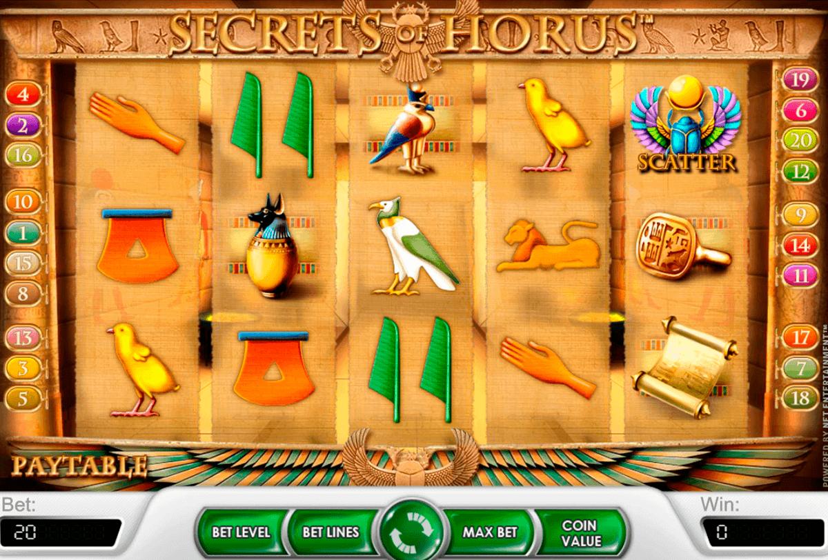 secrets of horus netent spielautomaten