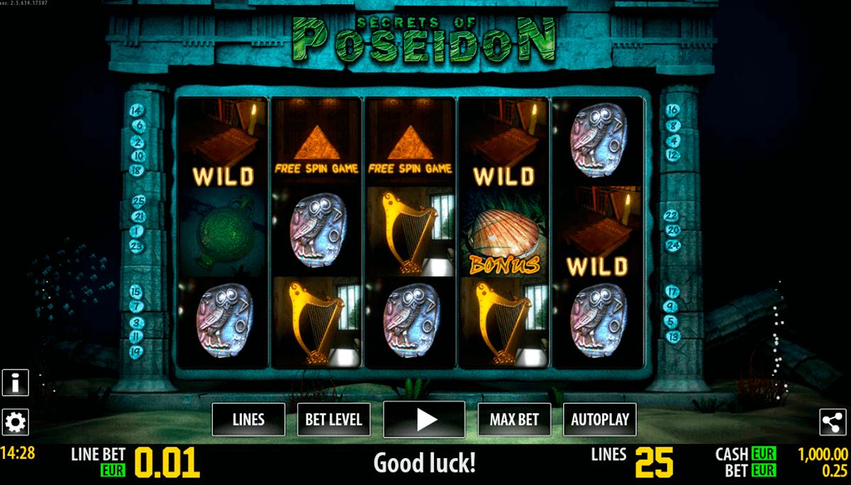 secrets of poseidon hd world match spielautomaten