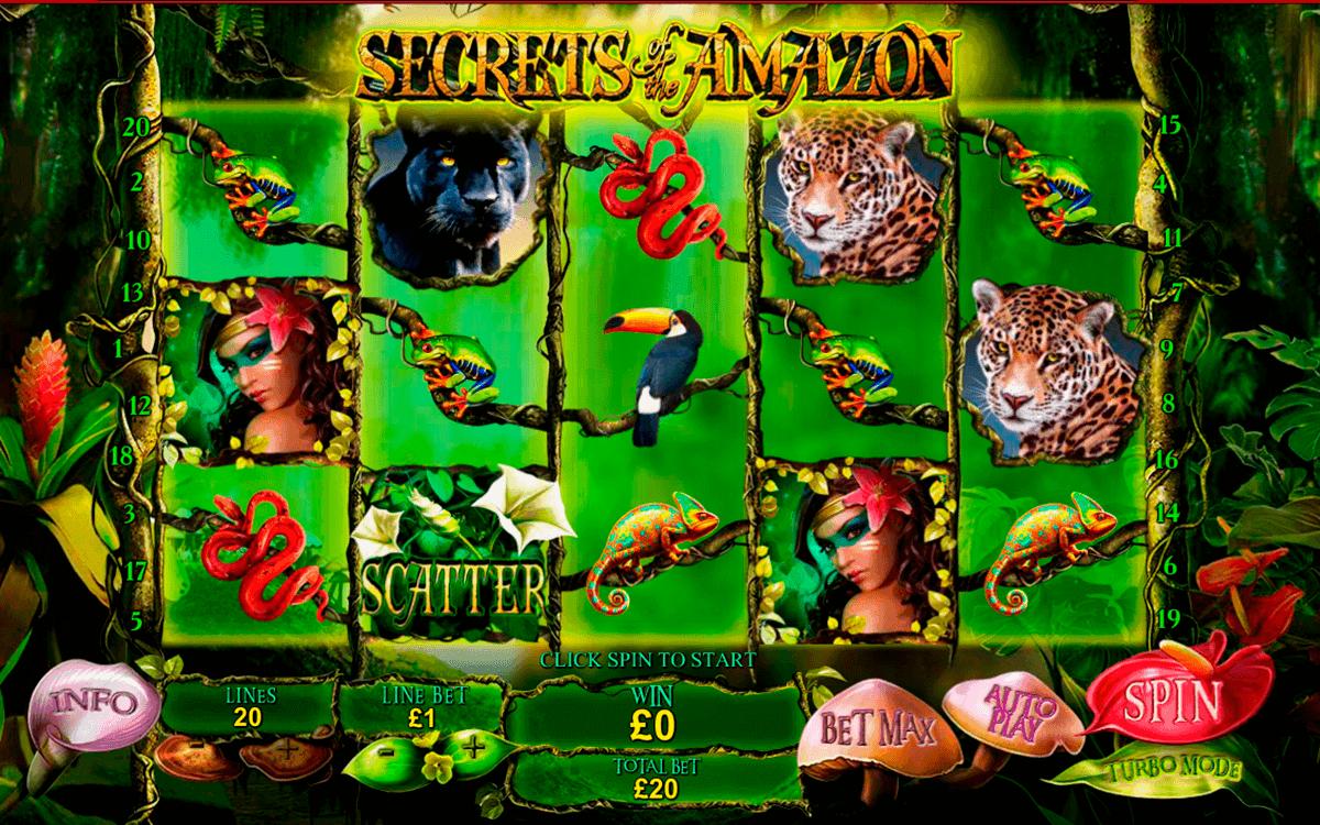 secrets of the amazon playtech spielautomaten