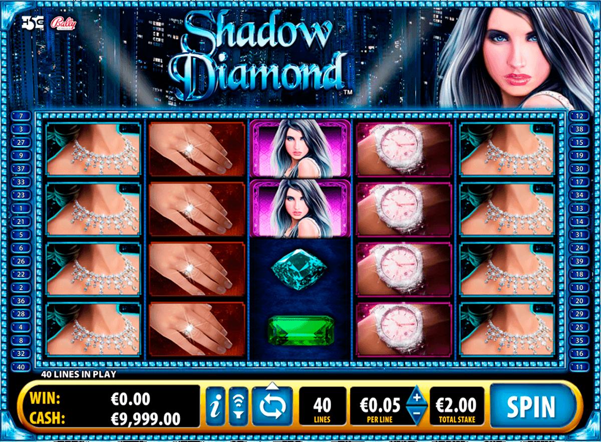 shadow diamond bally spielautomaten