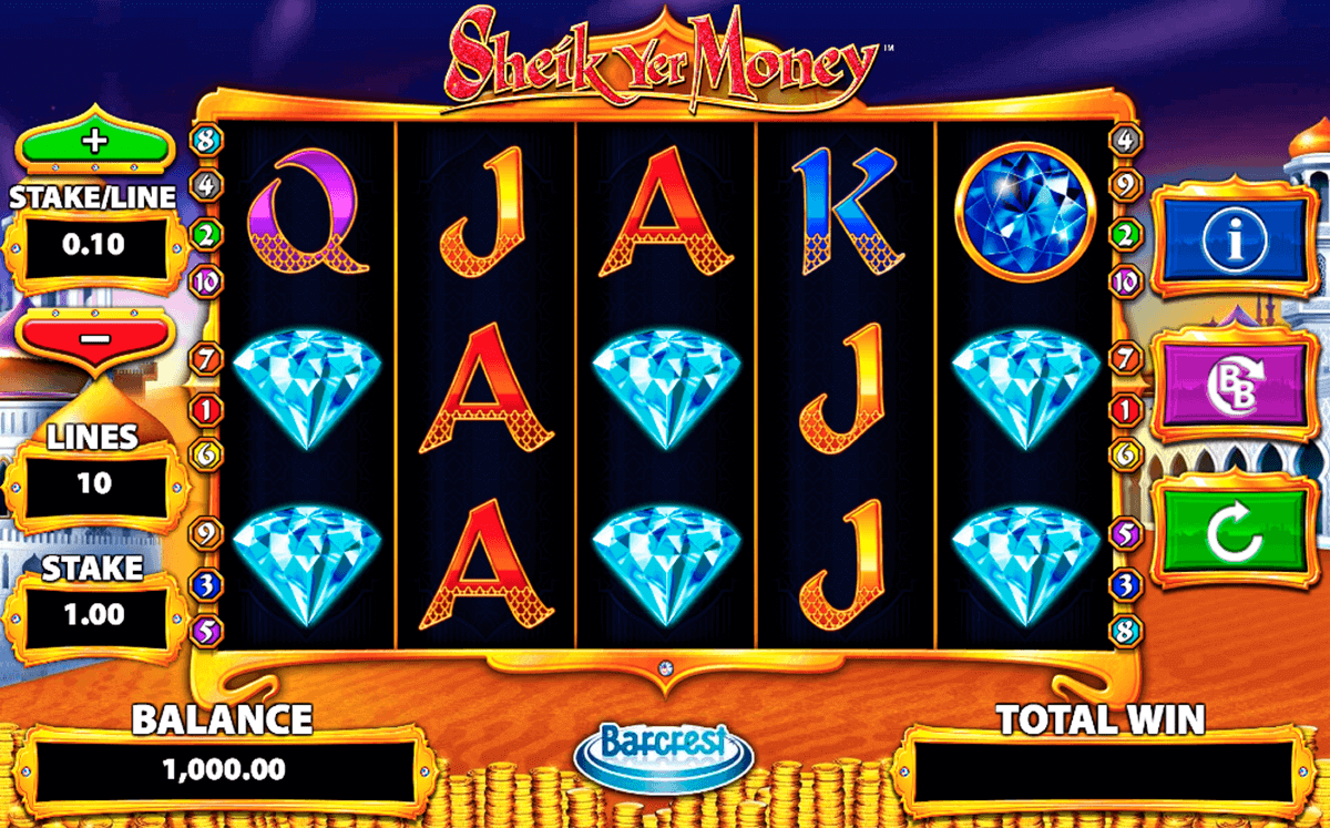 sheik yer money barcrest spielautomaten