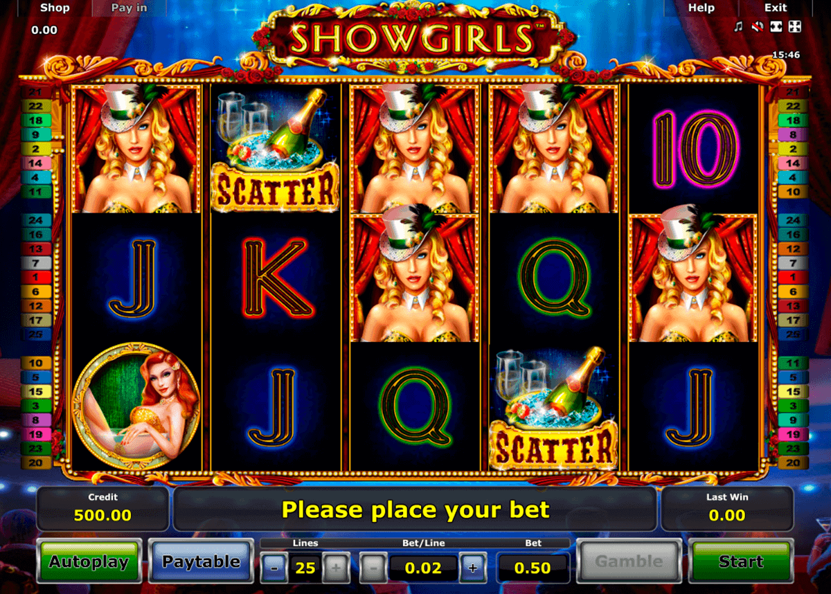 showgirls novomatic spielautomaten