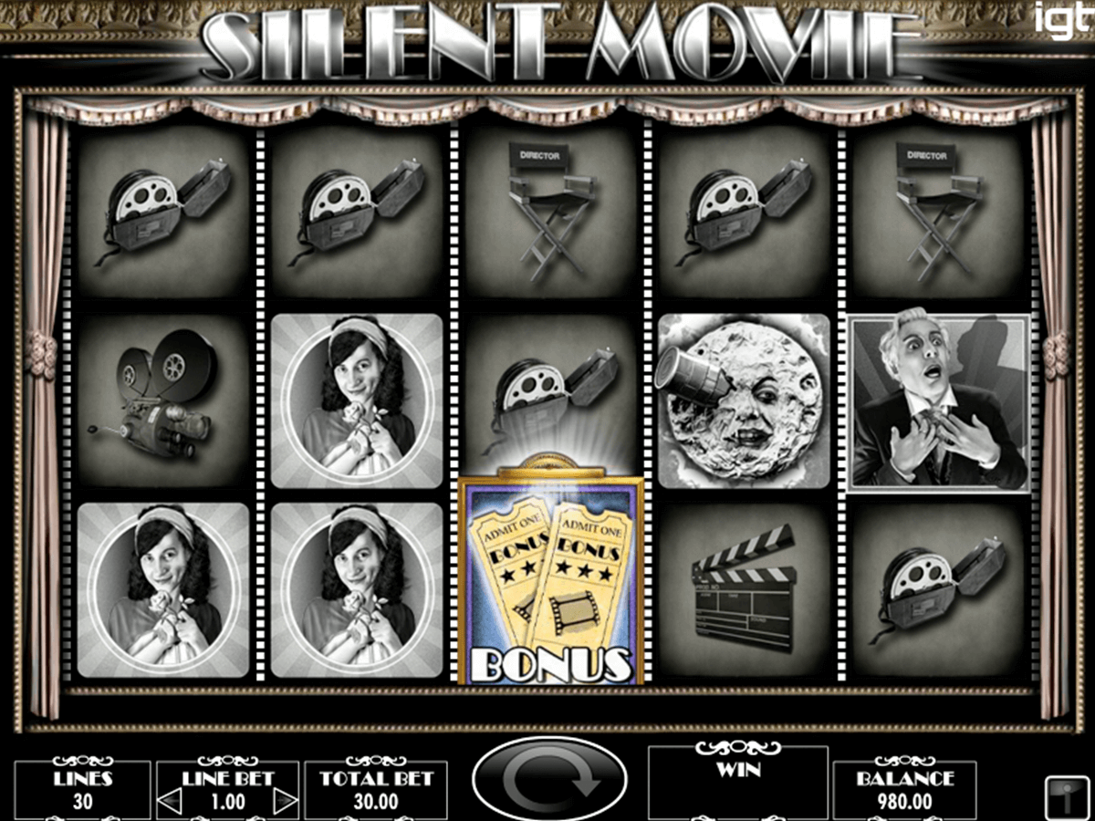 silent movie igt spielautomaten