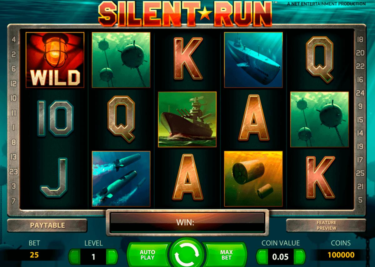silent run netent spielautomaten