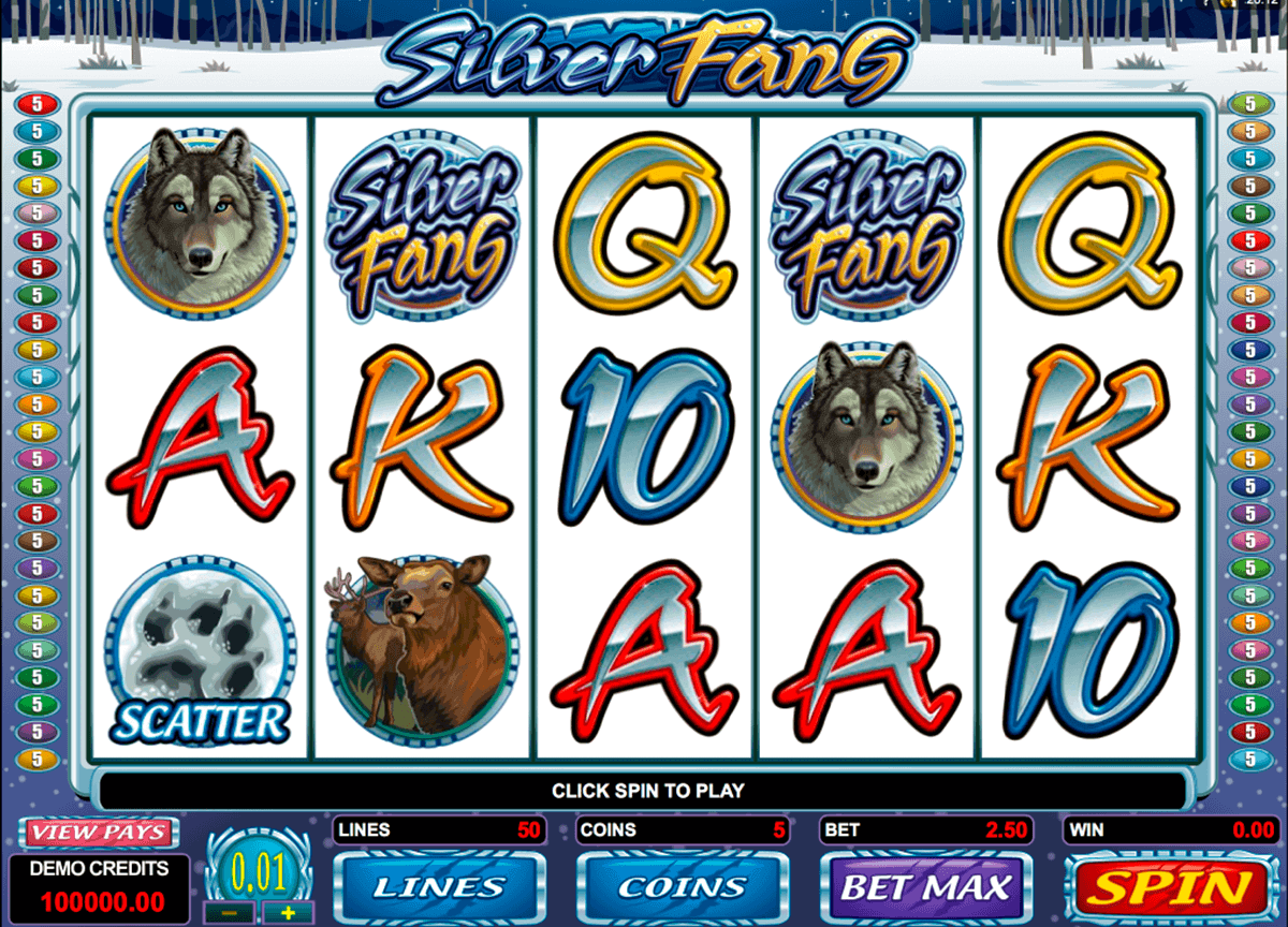 silver fang microgaming spielautomaten