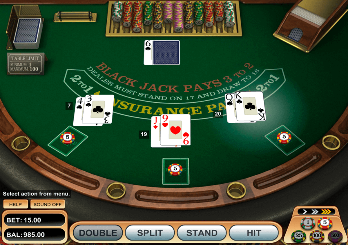 single desk blackjack betsoft blackjack