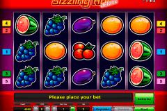 sizzling hot delue novomatic spielautomaten