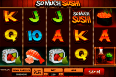 so much sushi microgaming spielautomaten