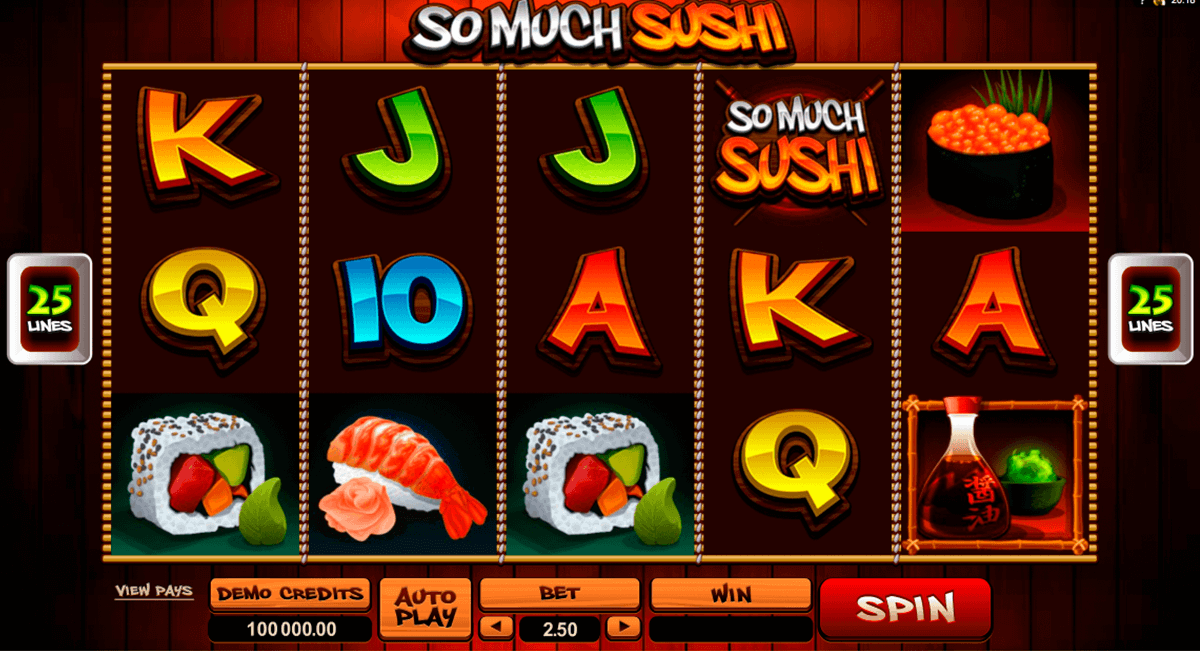 Spiele So Much Sushi - Video Slots Online