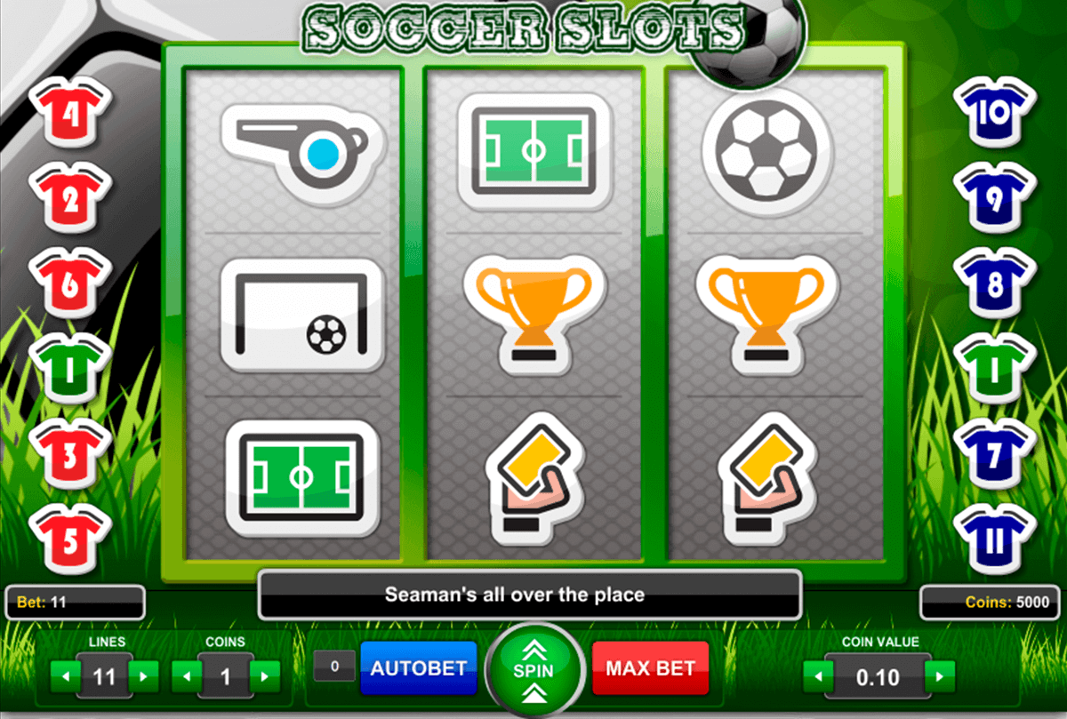 Spiele Virtual Soccer - Video Slots Online