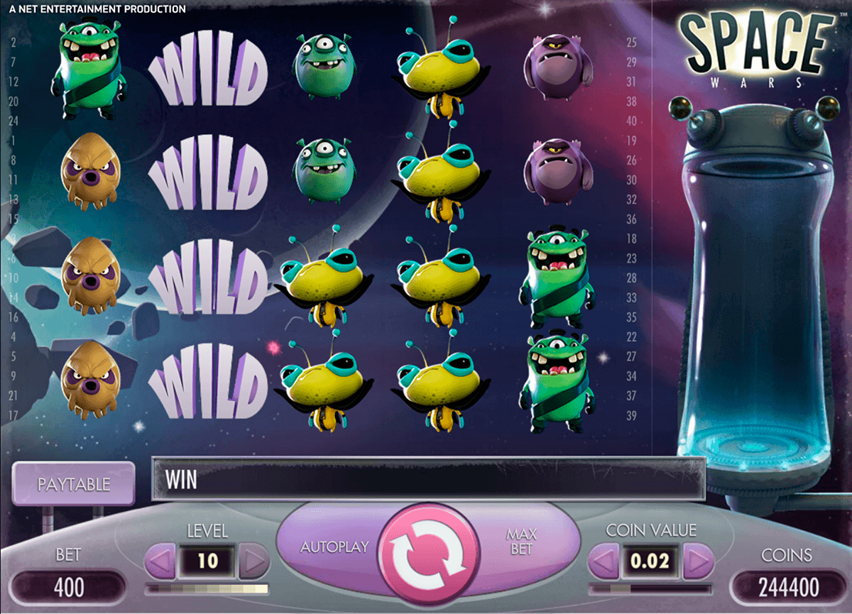Spiele Space MiГџion - Video Slots Online