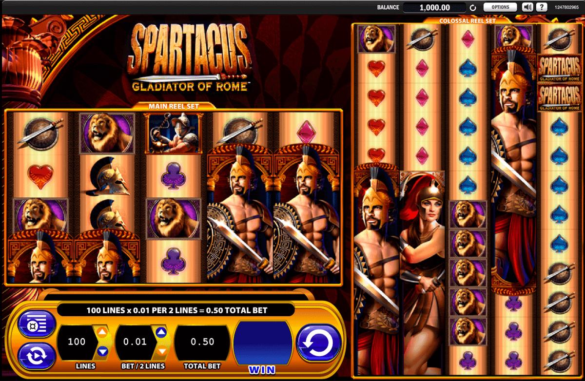 spartacus wms spielautomaten