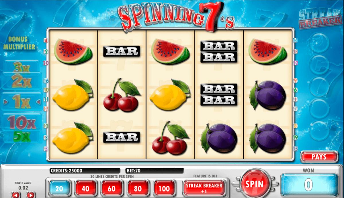 spinning 7s amaya spielautomaten