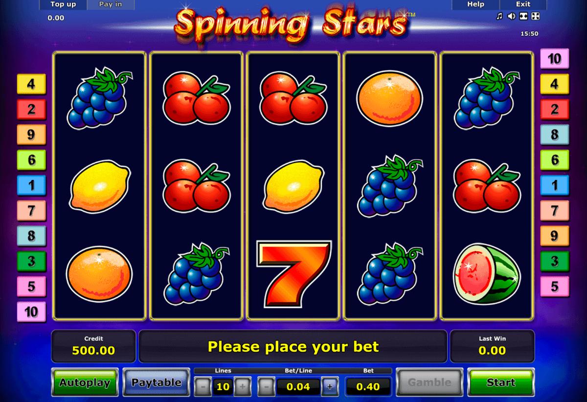 spinning stars novomatic spielautomaten