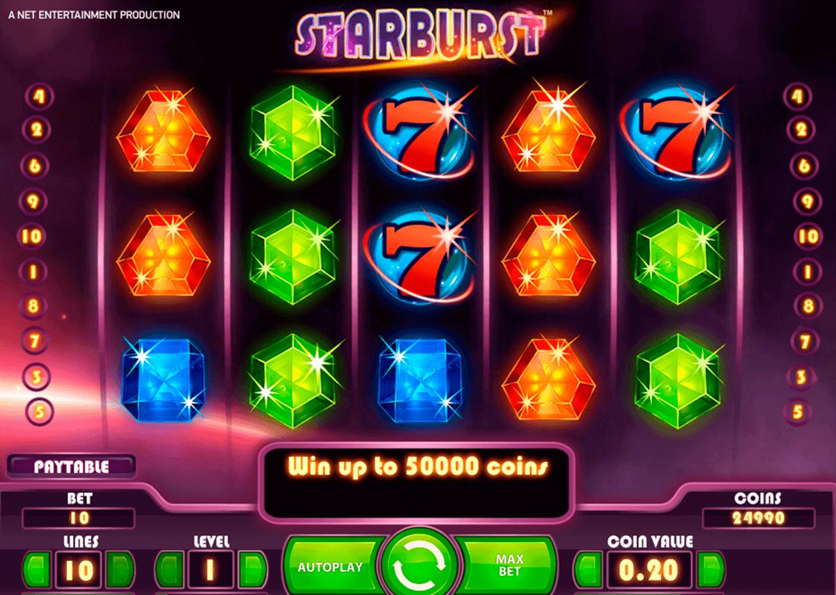 starburst netent spielautomaten