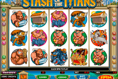 stash of the titans microgaming spielautomaten