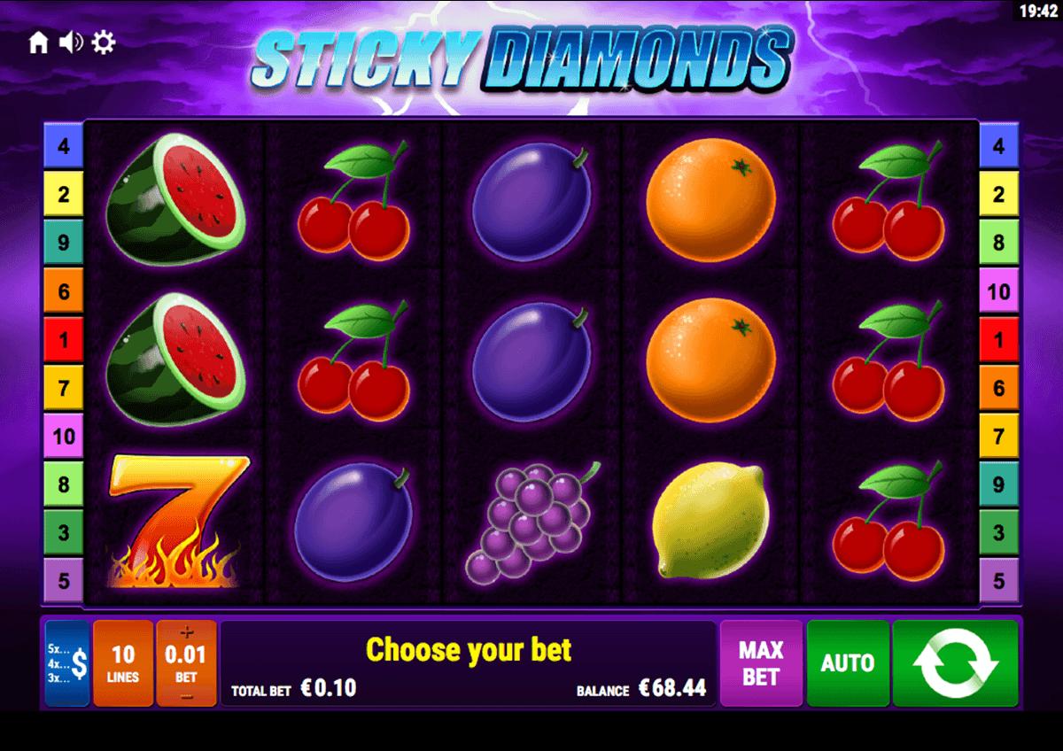 sticky diamonds bally wulff spielautomaten