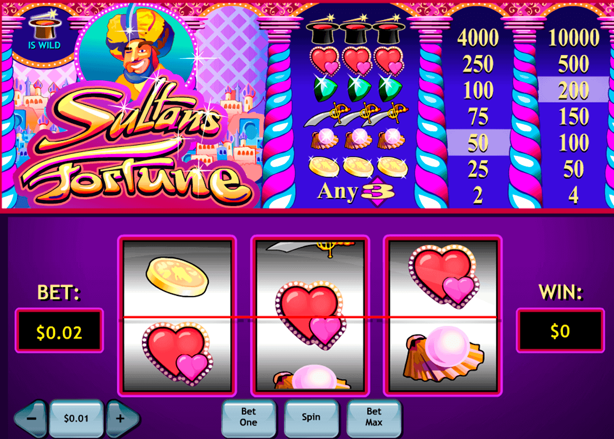 sultans fortune playtech spielautomaten1