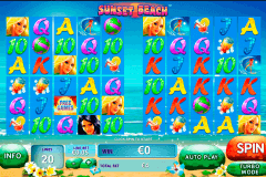 sunset beach playtech spielautomaten