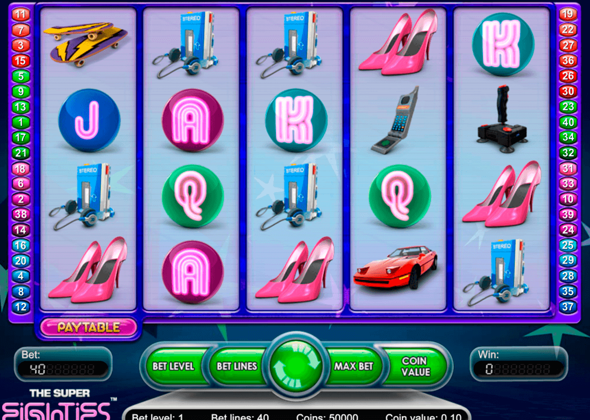 super eighties netent spielautomaten