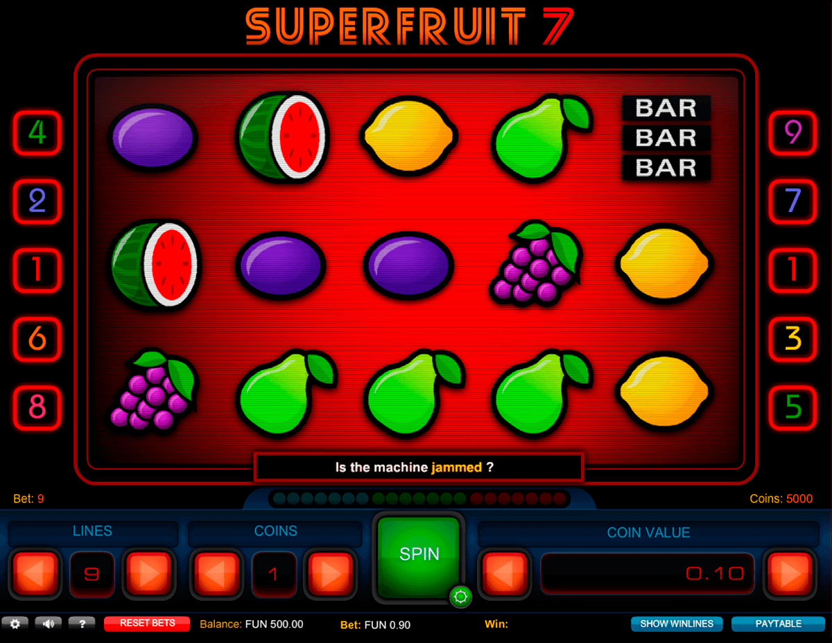 super fruit  gaming spielautomaten
