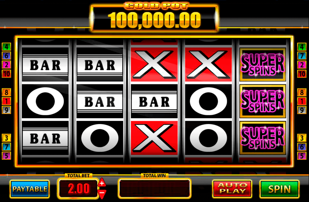 super spins bar x gold blueprint spielautomaten