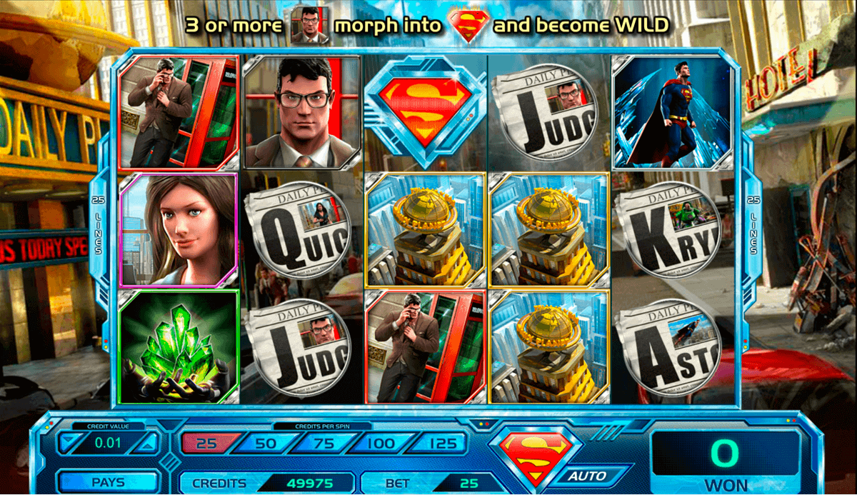 superman last son of krypton amaya spielautomaten