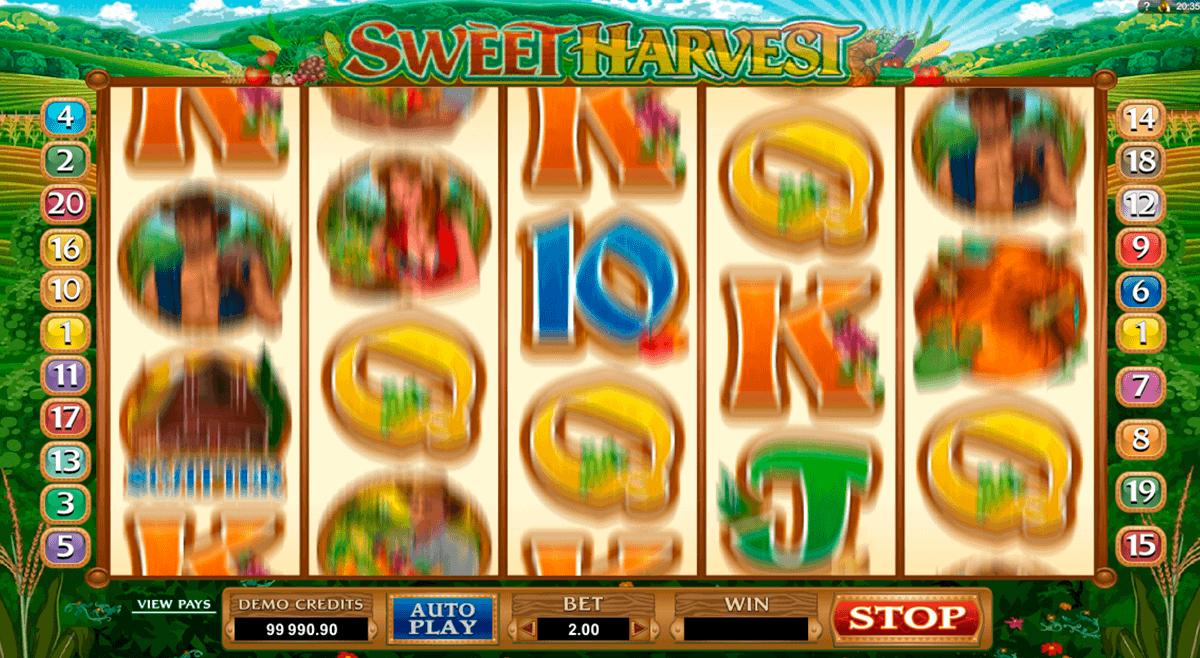 sweet harvest microgaming spielautomaten