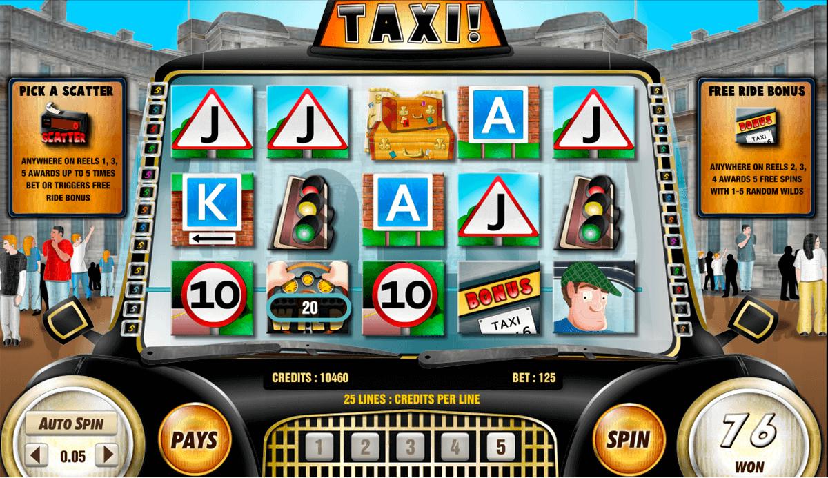 taxi amaya spielautomaten