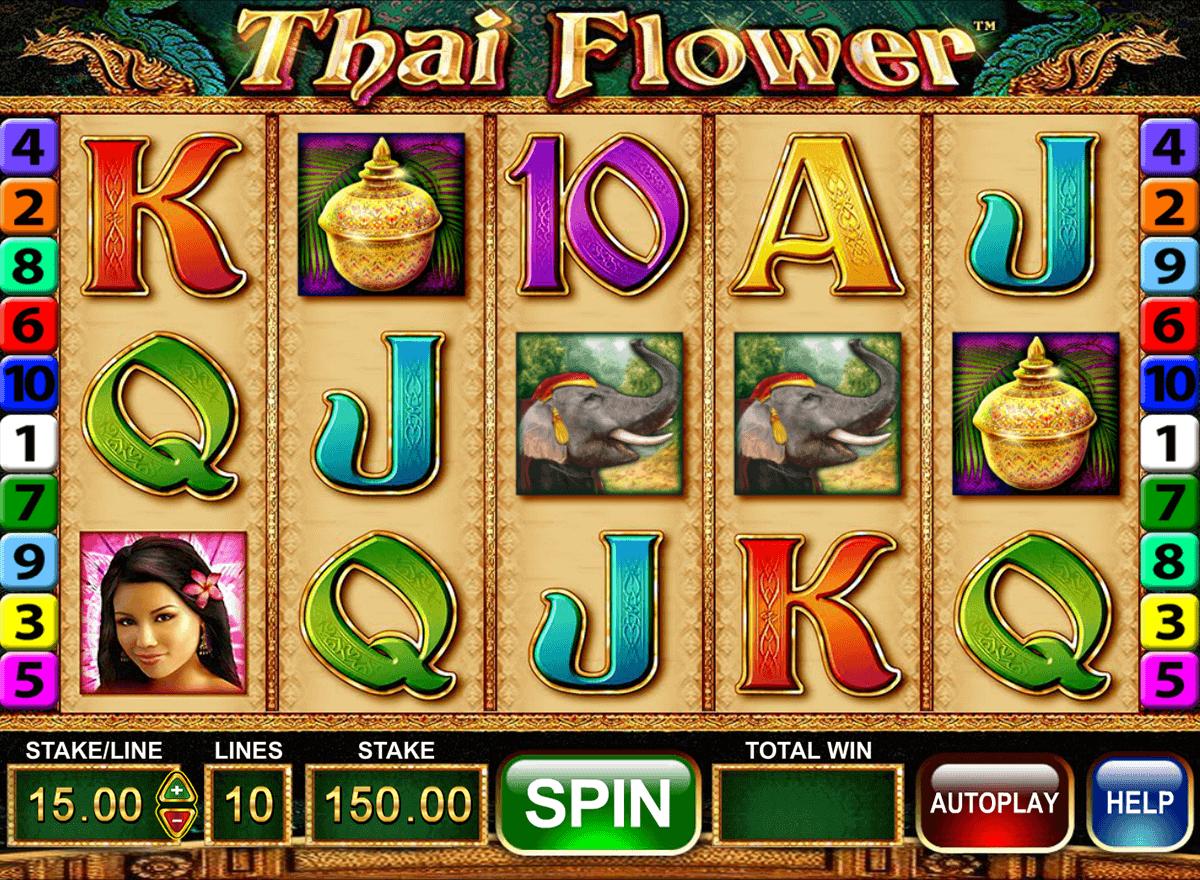 thai flower barcrest spielautomaten