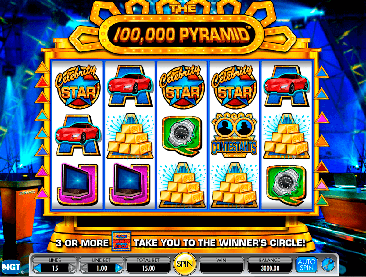 the 100000 pyramid igt spielautomaten