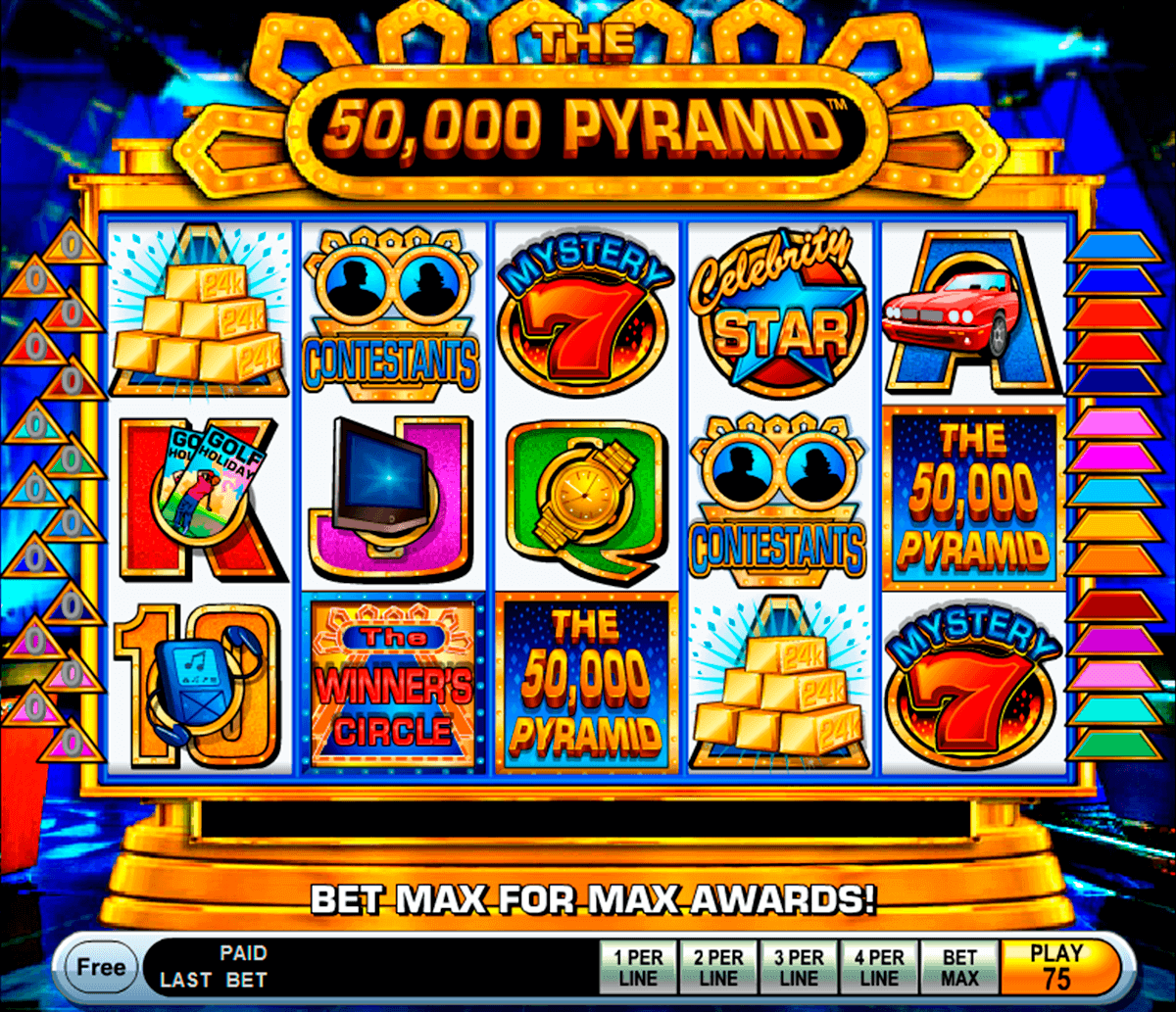the 50000 pyramid igt spielautomaten