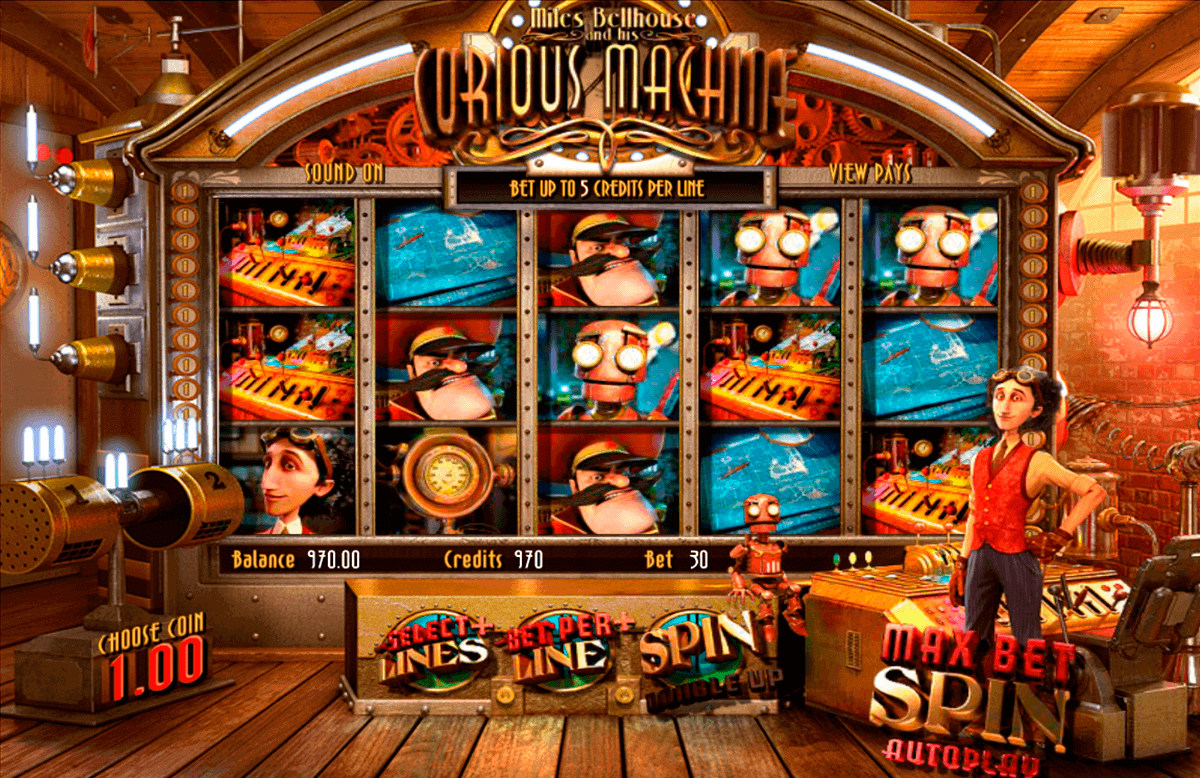 the curious machine betsoft spielautomaten
