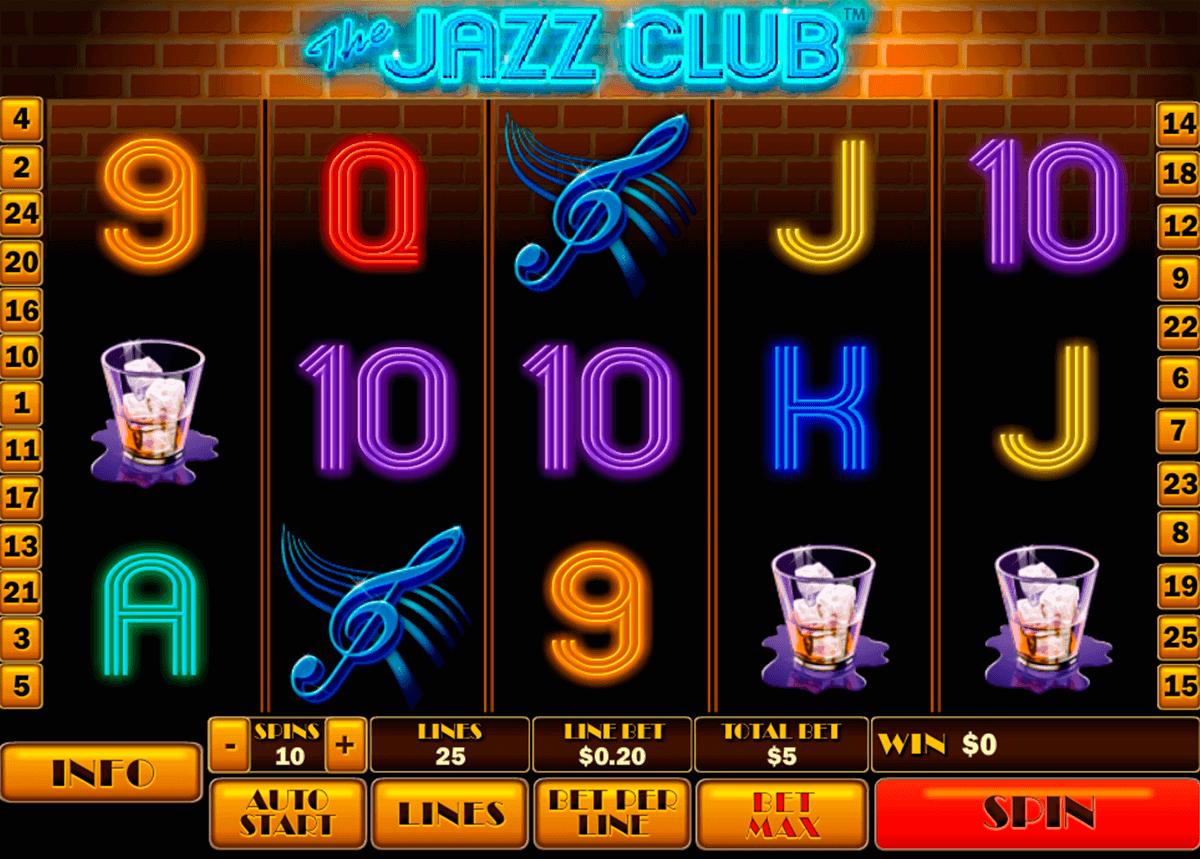 the jazz club playtech spielautomaten