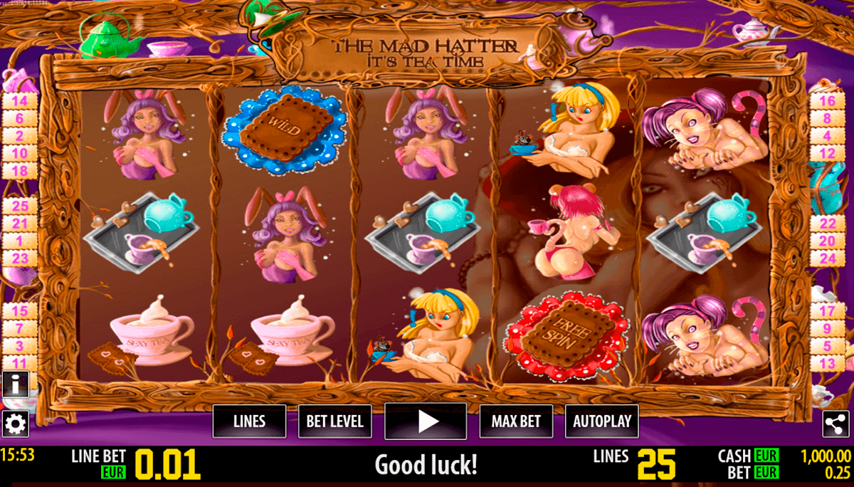 the mad hatter hd world match spielautomaten