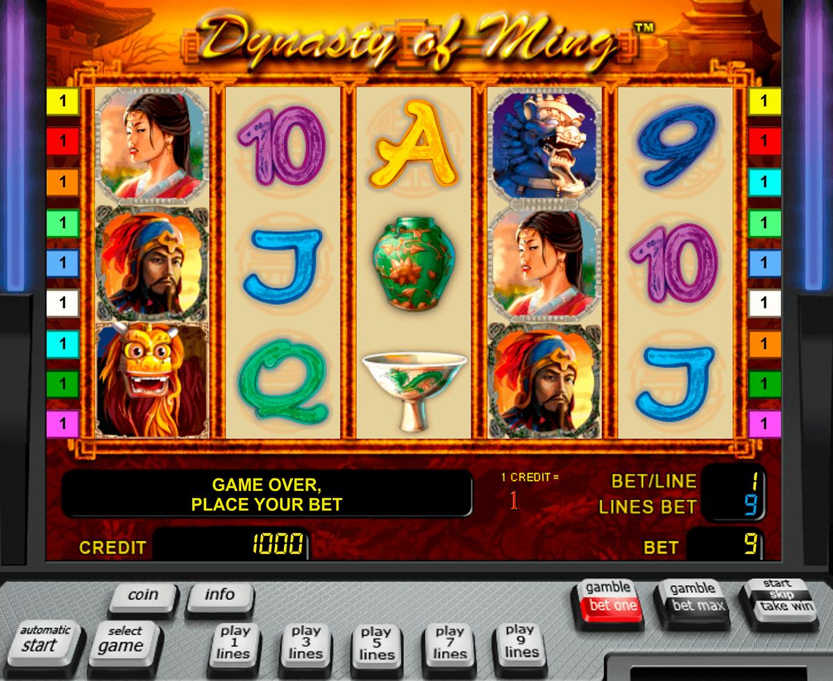 the ming dynasty novomatic spielautomaten