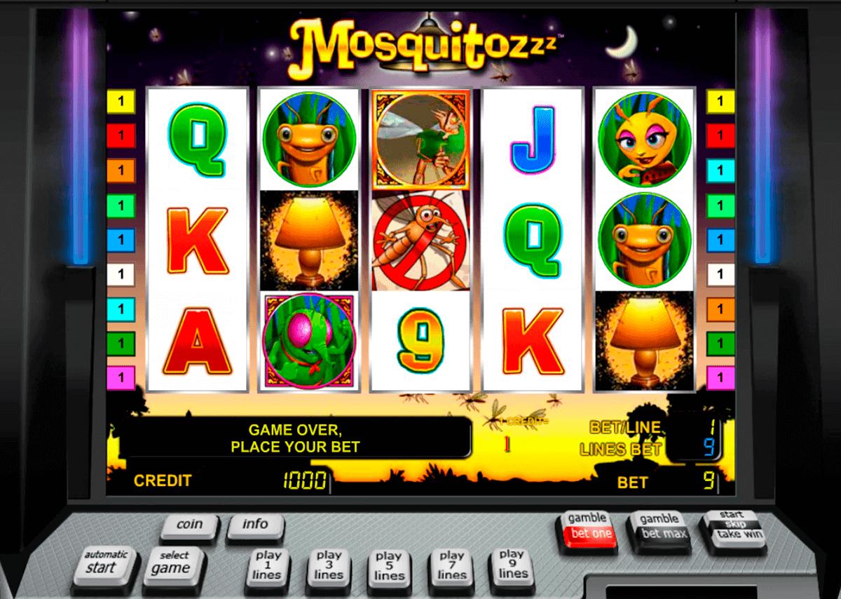 the mosquitozzz novomatic spielautomaten