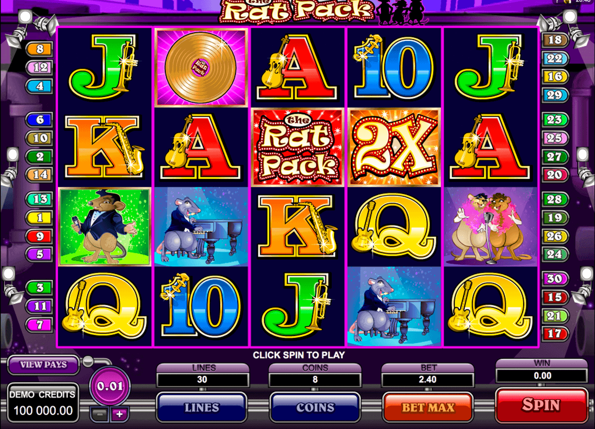 the rat pack microgaming spielautomaten