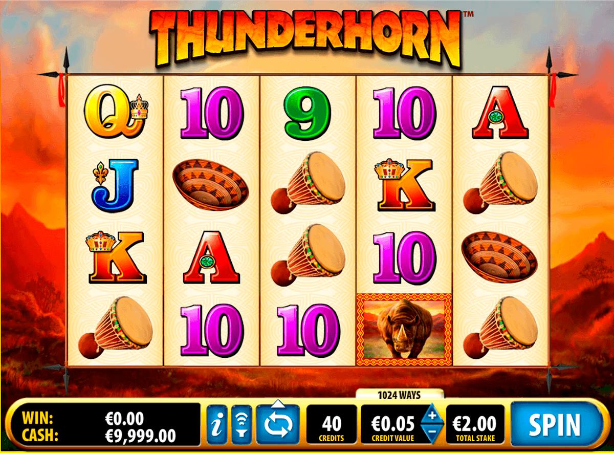 thunderhorn bally spielautomaten