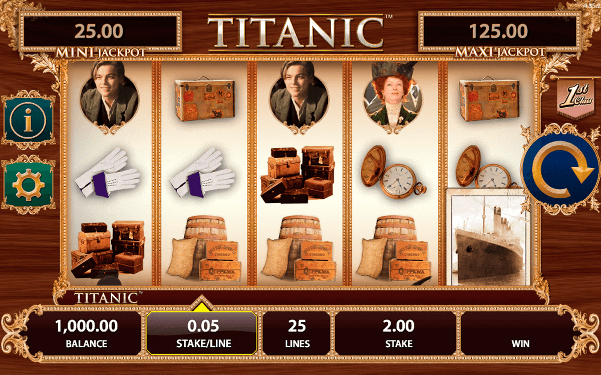 Spiele Titanic - Video Slots Online